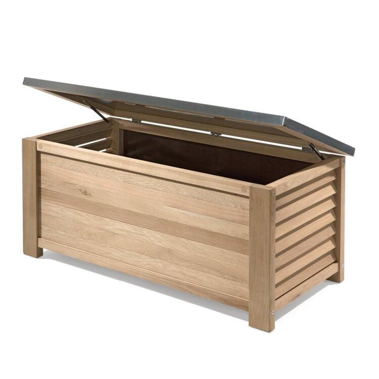 Manufactum garden chest made of oak