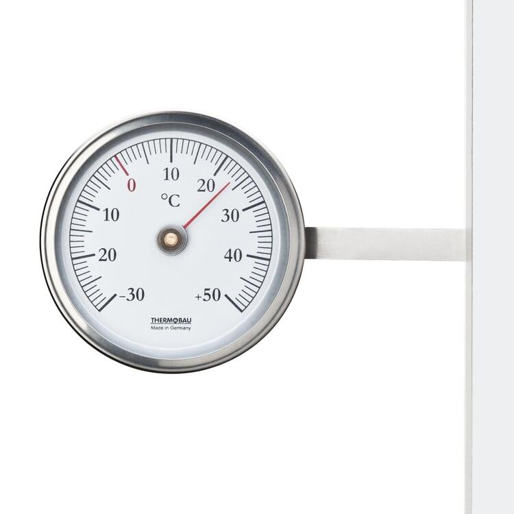 Fensterthermometer rund