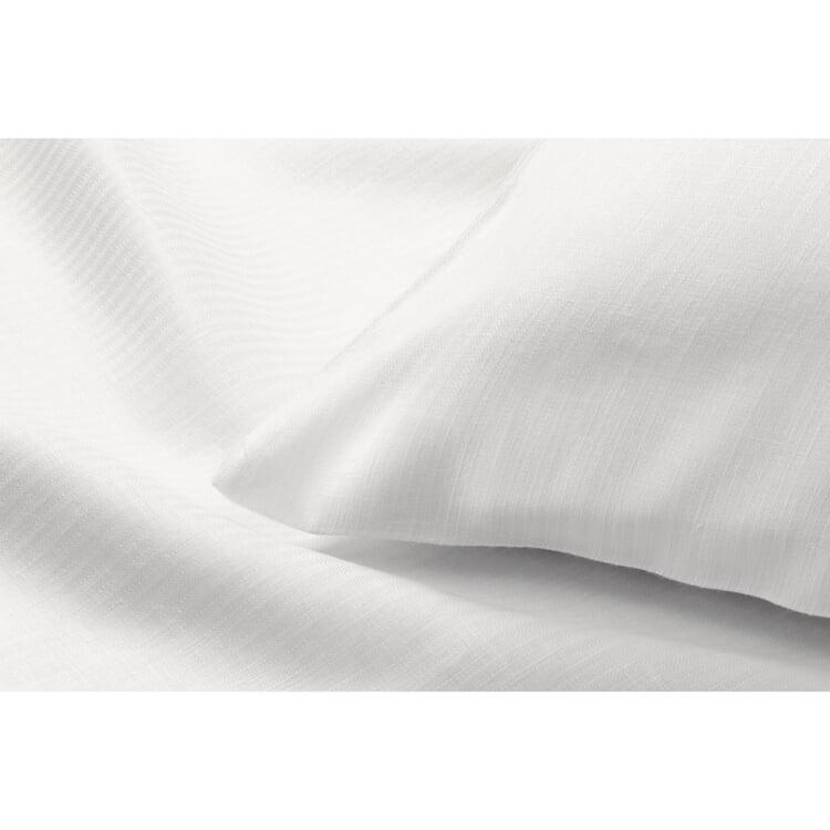 Kissenbezug Mühlviertler Leinen, Weiß