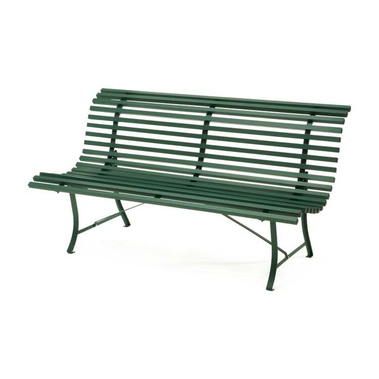 Curved Steel Garden Bench