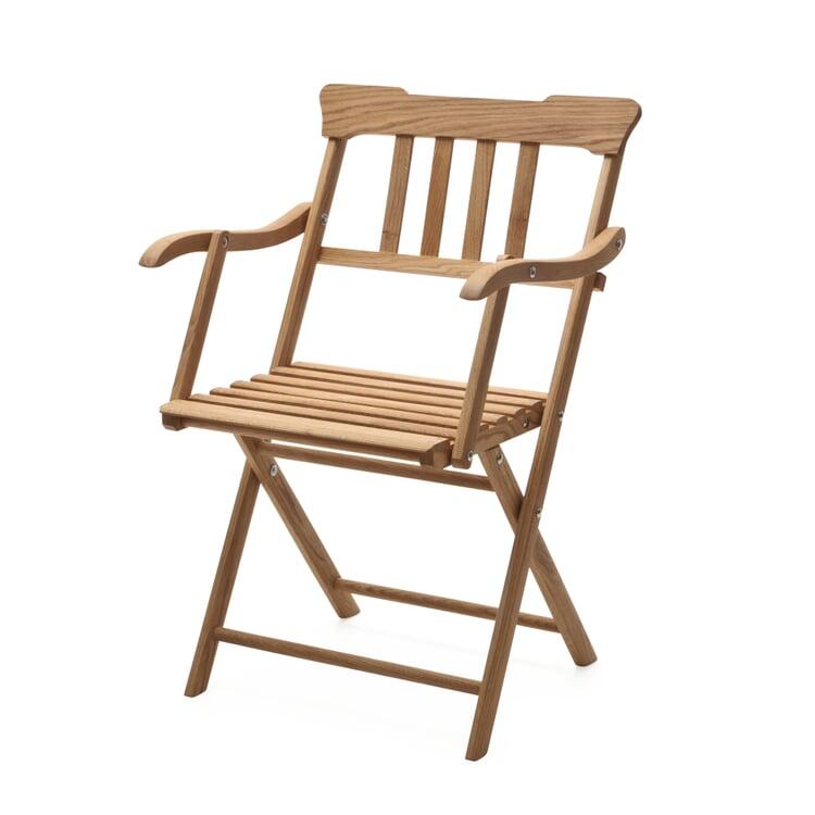 Danish Garden Armchair Made of Oak