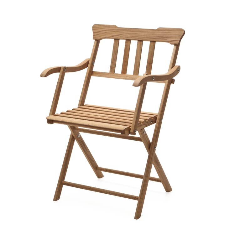 Danish Garden Armchair Made of Oak