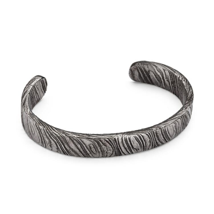 Narrow Meteorite Bracelet