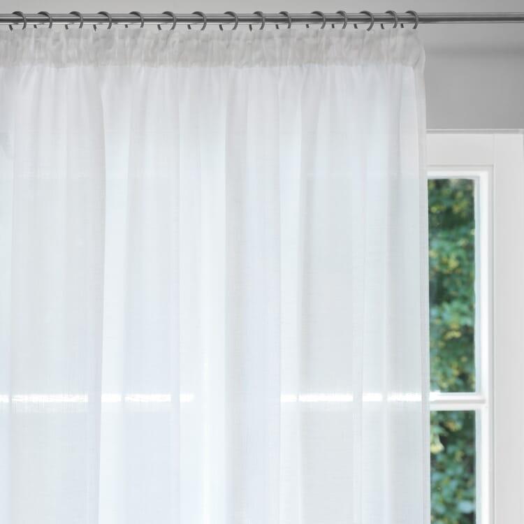 Pure Linen Voile Curtains