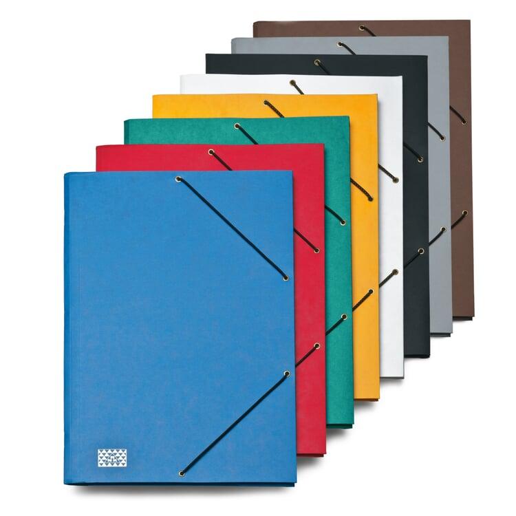 9 Compartment Cardboard File Folder Gray