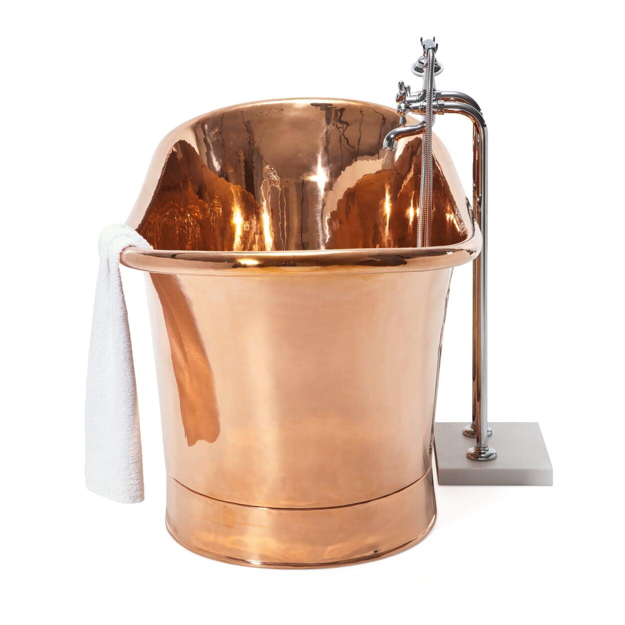 Badewanne Kupfer