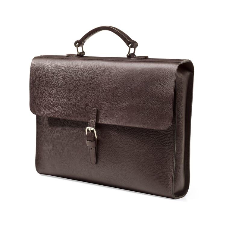 Akten- und Notebooktasche Rindleder