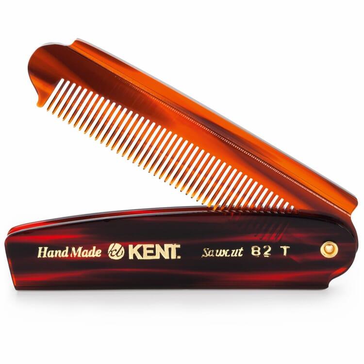 Folding comb, cellulose acetate