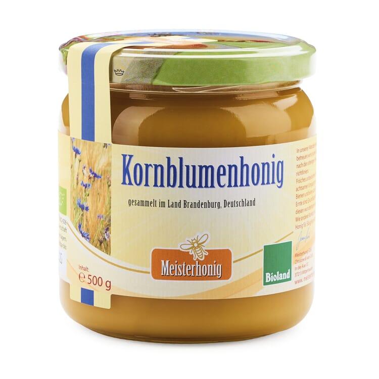 Bio-Kornblumenhonig aus Brandenburg