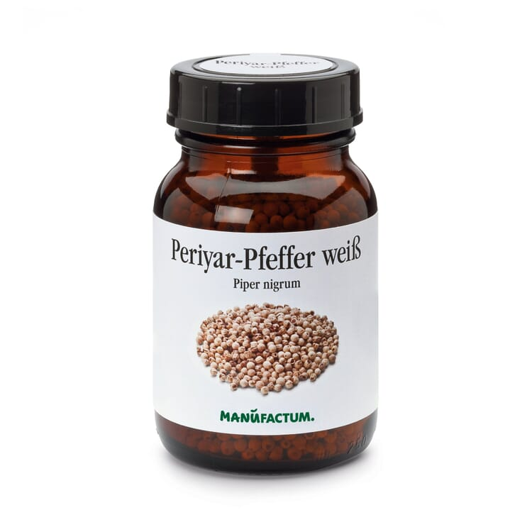 Periyar-Pfeffer Handpicked weiß