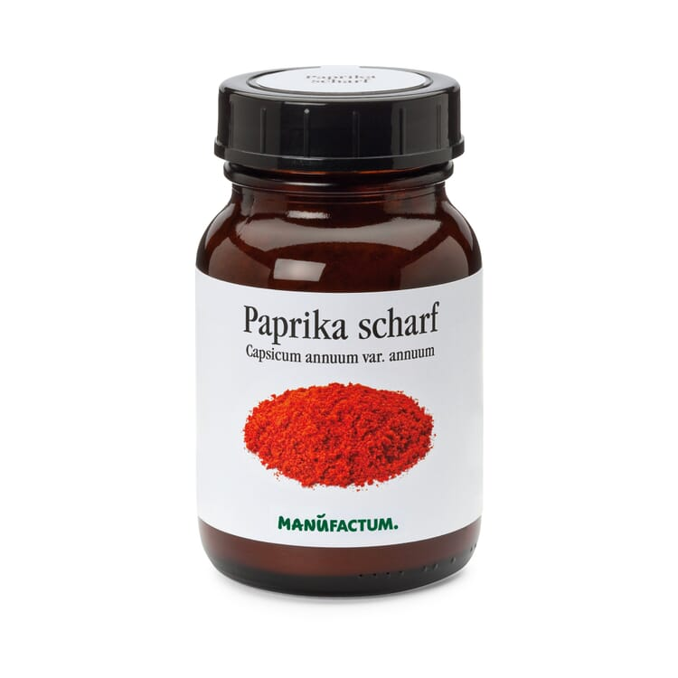 Serbischer Paprika scharf