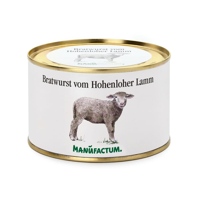 Bratwurst vom Hohenloher Lamm