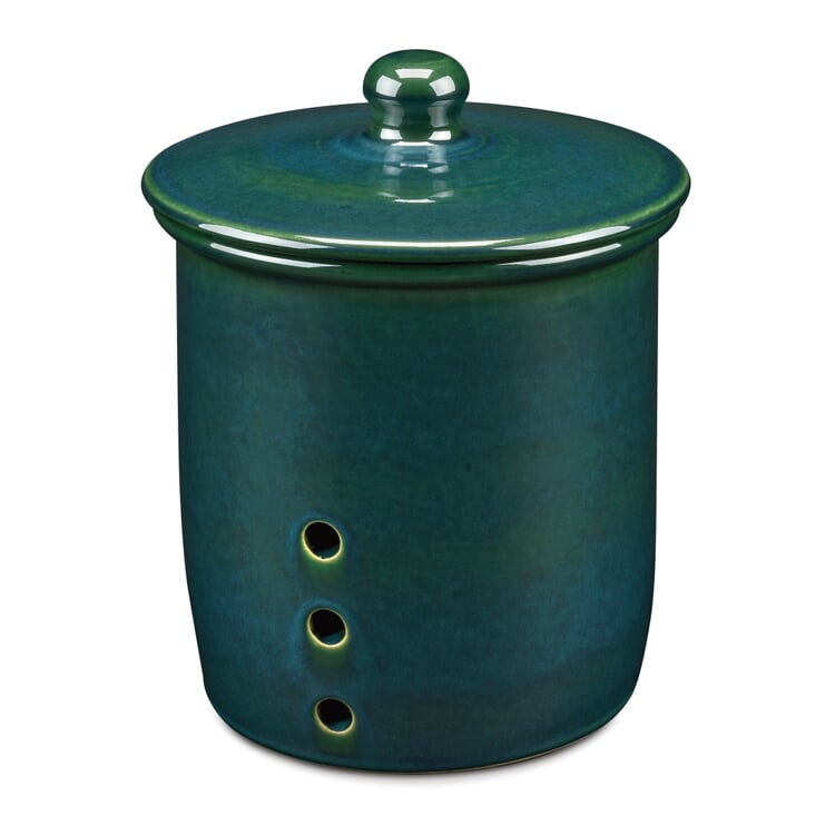 Stoneware Storage Pot Large