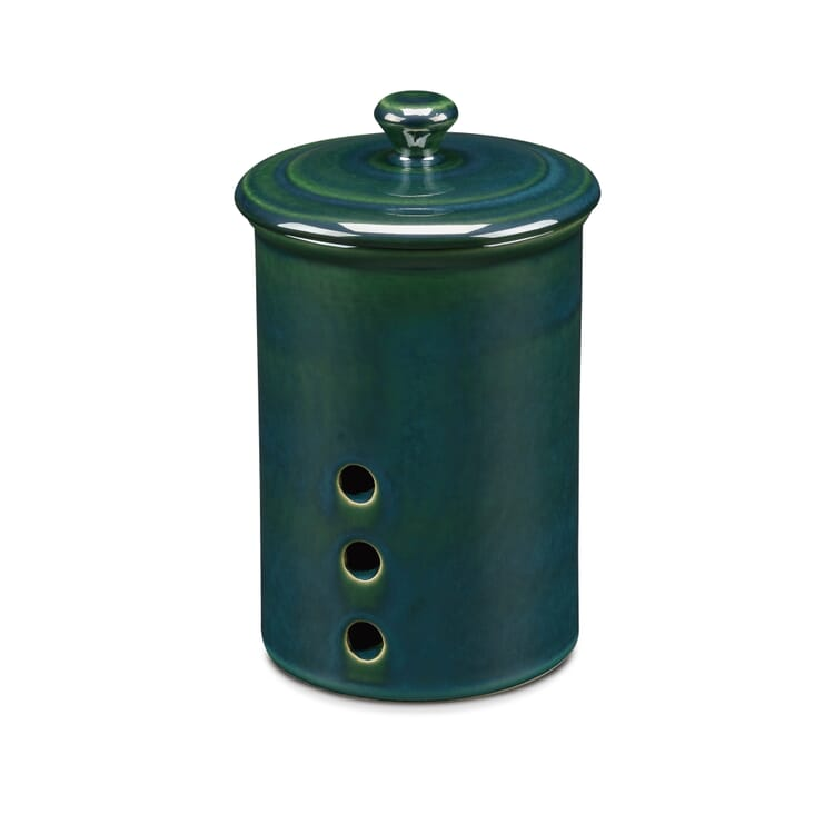 Stoneware Storage Pot, Medium