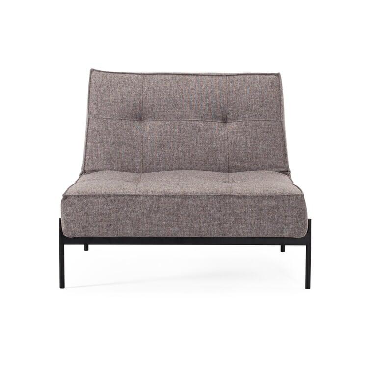 Sessel Splitback Lounge Grau