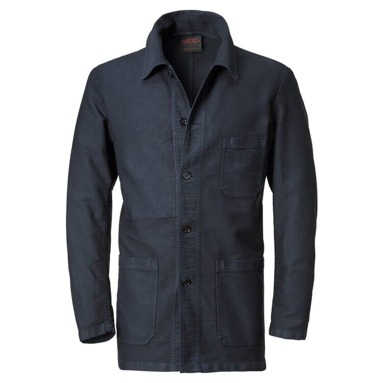 Men's Moleskin Jacket by Vetra, Night Blue