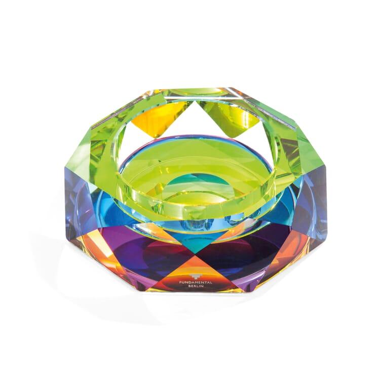 Cut-Glass Bowl Rainbow, Small