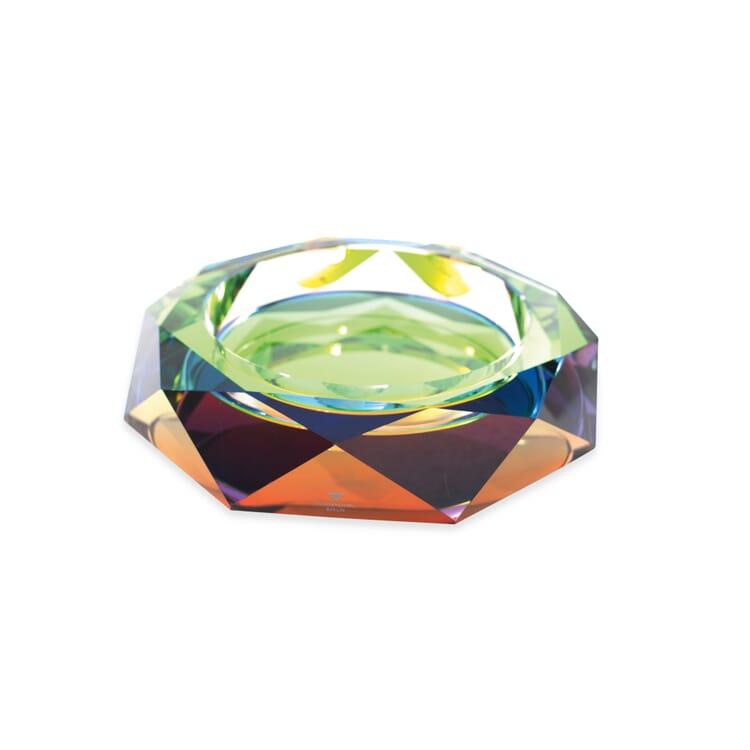 Cut-Glass Bowl Rainbow, Large
