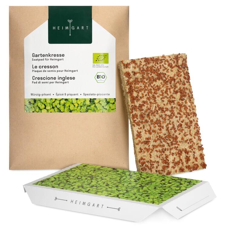 Microgreens-Saatpad, Gartenkresse