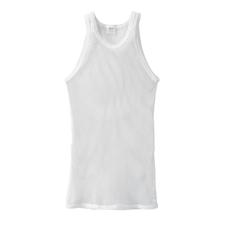 Brynje Sleeveless Shirt Made of Mesh White