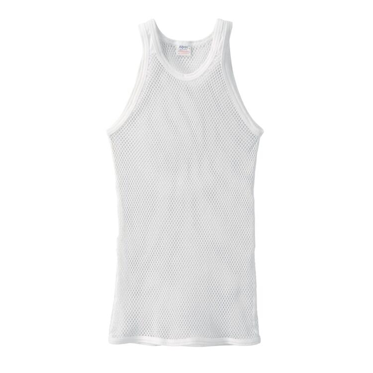 Brynje Sleeveless Shirt Made of Mesh, White