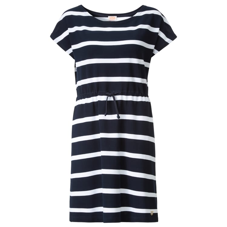 Piqué Dress by Armor lux, Navy Blue-White