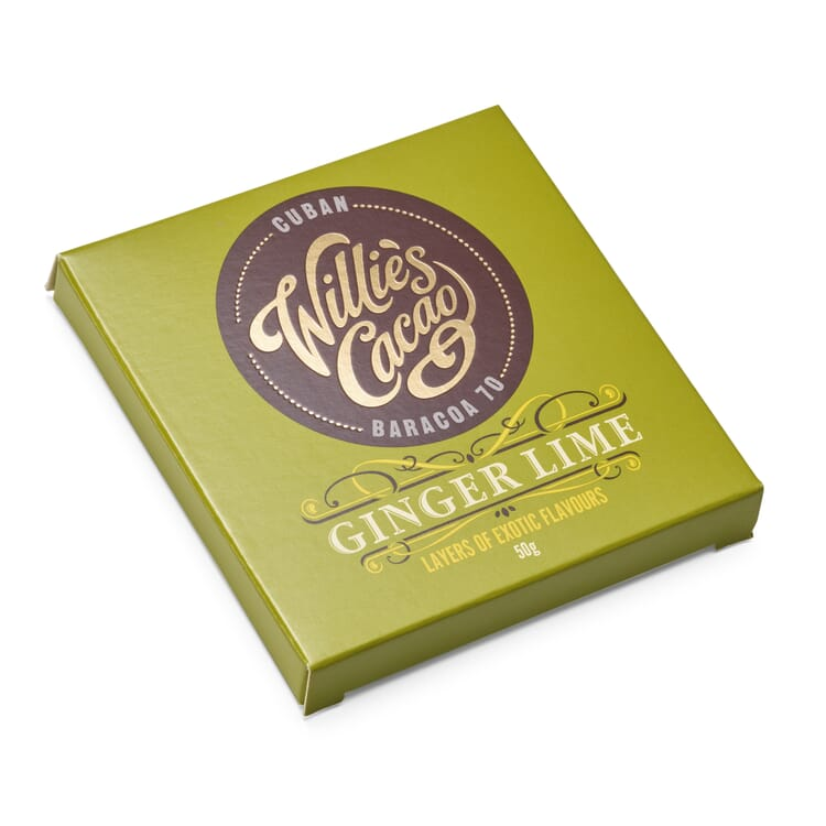 Willie's Cacao Ingwer Limette