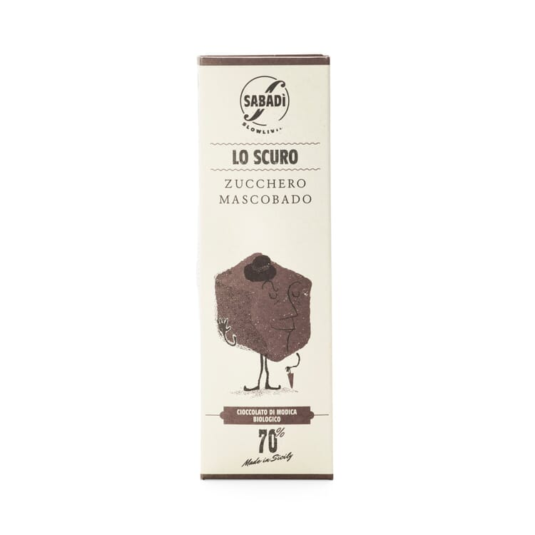 Organic Chocolate (70%) with Muscovado Sugar