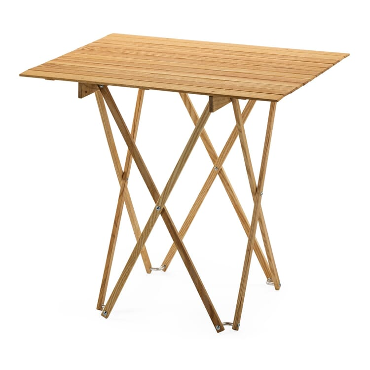 Folding Table Made of Ash Wood
