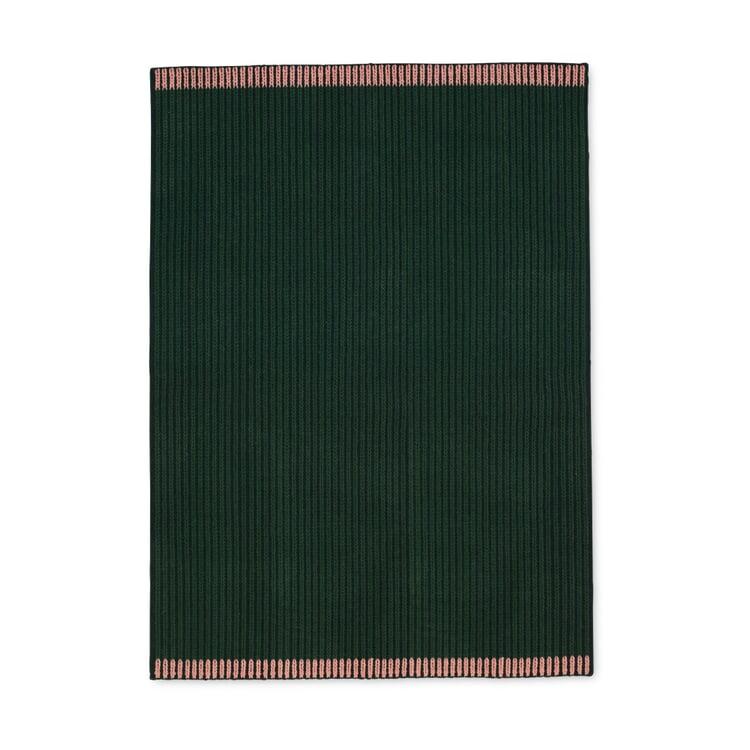 Teppich Loop Groß Grün