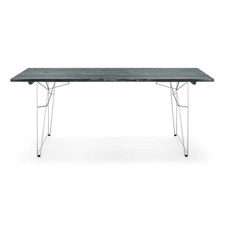 Tisch und Liege LTL Platte, Granitgrau RAL 7026
