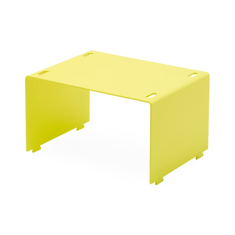 Shelf System BOUNCE Low Element Sulfur Yellow RAL 1016