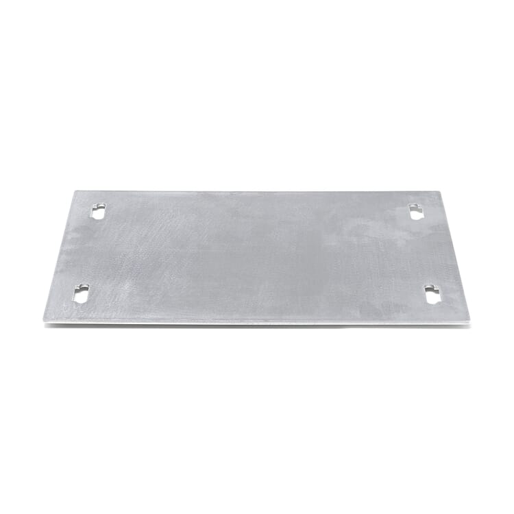 Shelf System BOUNCE, Base Plate Single Width