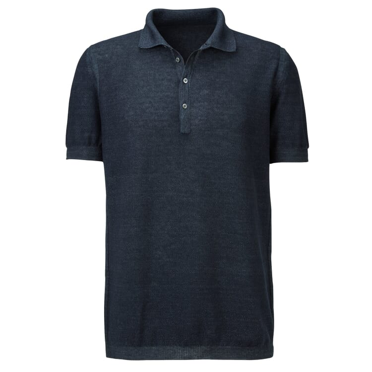 Men's Polo Shirt by Seldom, Dark Blue