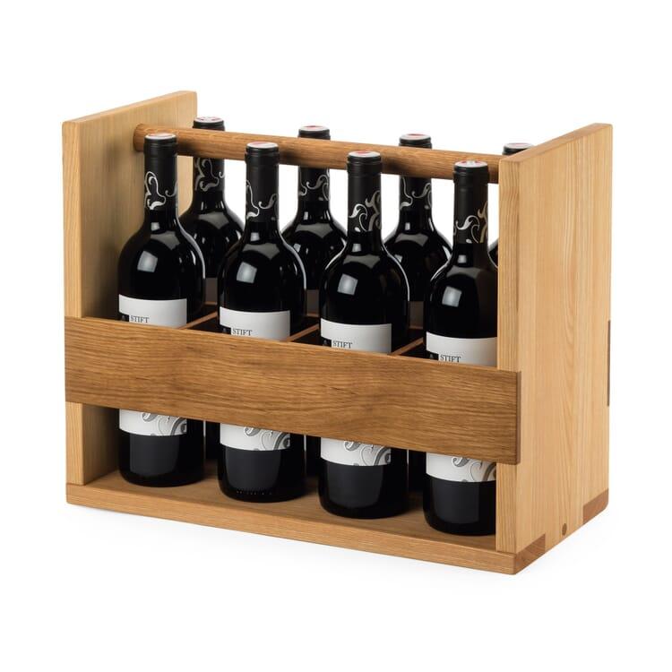 Flaschenträger Eiche und Esche