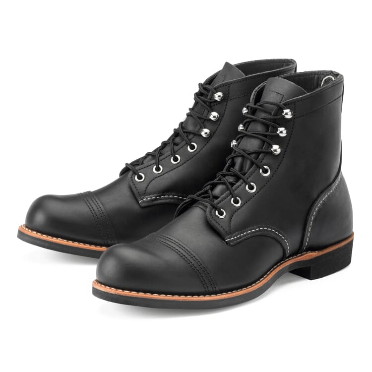 Red Wing Iron Ranger Herren, Schwarz