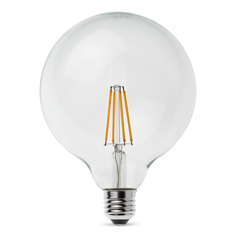 LED-Filament-Globelampe 125 mm E27 7 W Klar