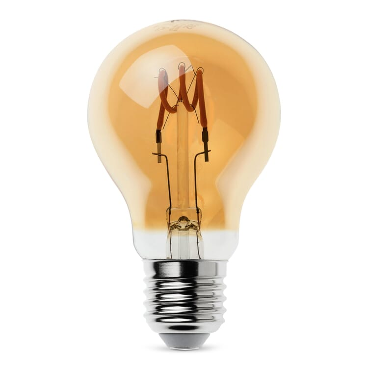 LED-Zier-Filamentlampe, Birne E27 3,5 W