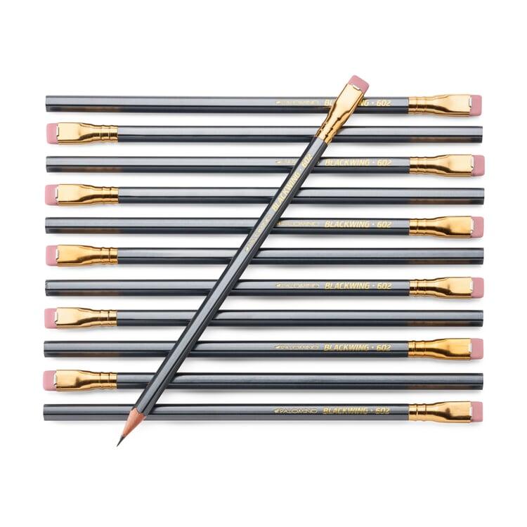 Bleistift Palomino Blackwing 602. Grauer Schaft
