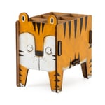 "Pencil Box ""Animal"" by Werkhaus Tiger"