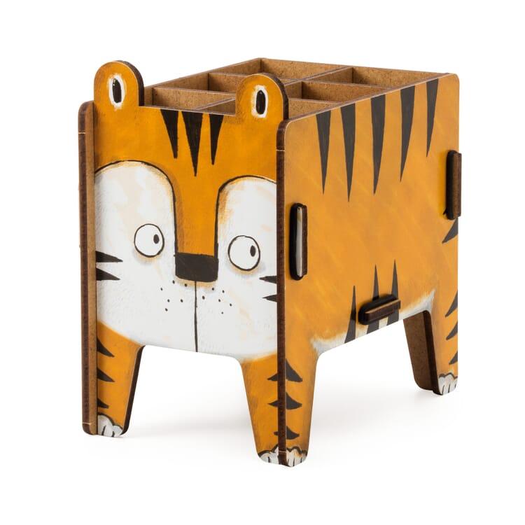 "Pencil Box ""Animal"" by Werkhaus, Tiger"