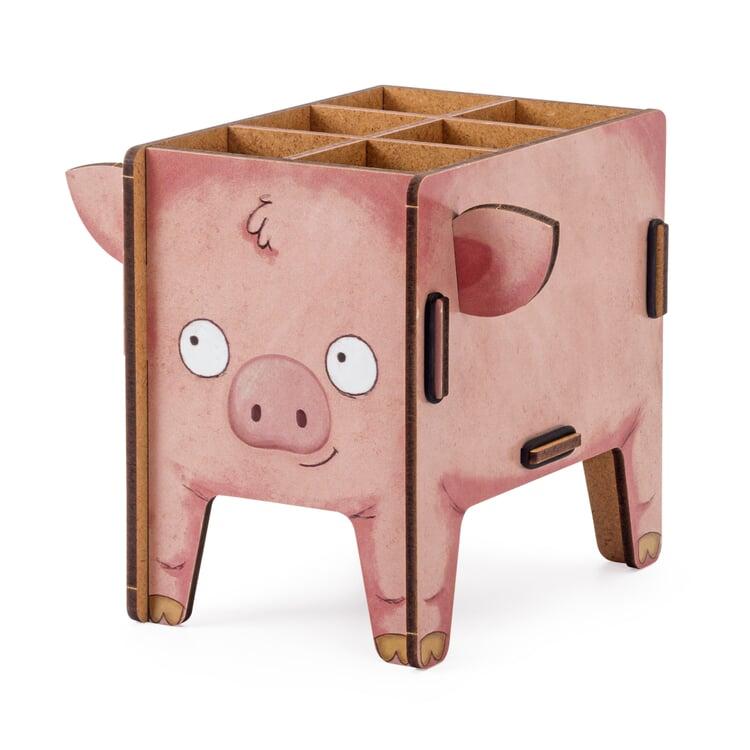 Werkhaus Stiftebox Tier Schwein