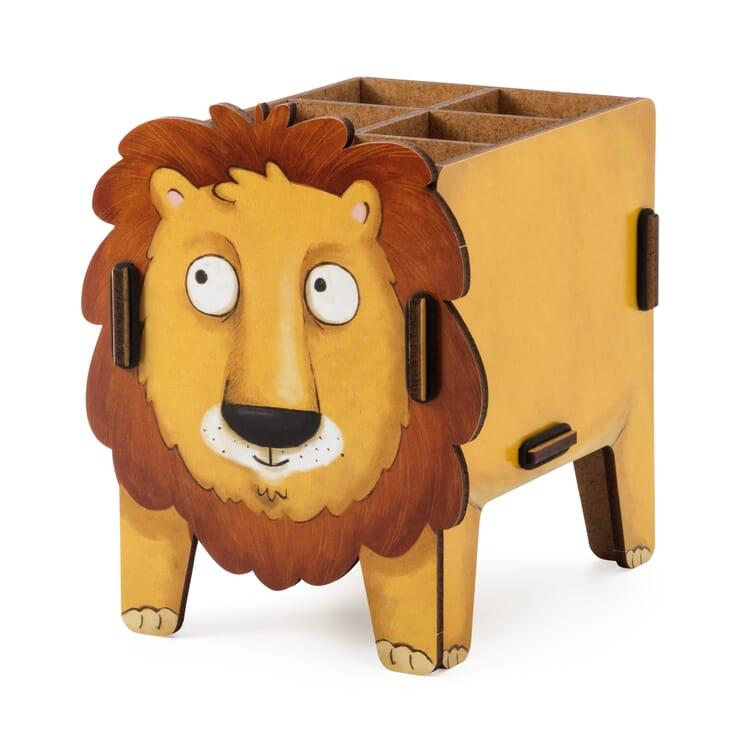 "Pencil Box ""Animal"" by Werkhaus, Lion"