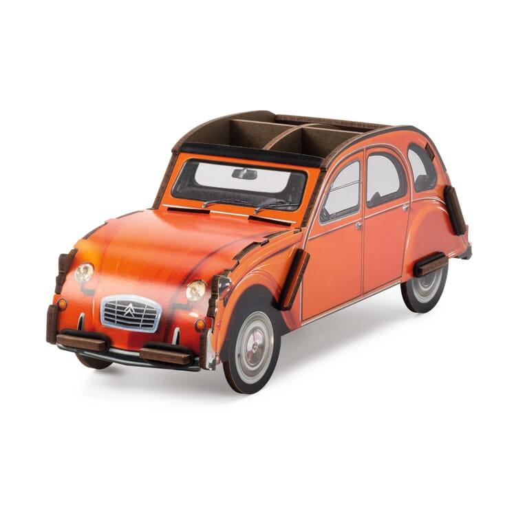 "Pencil Box ""Car"" by Werkhaus, Citroën 2CV"