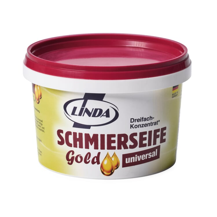 Goldene Schmierseife