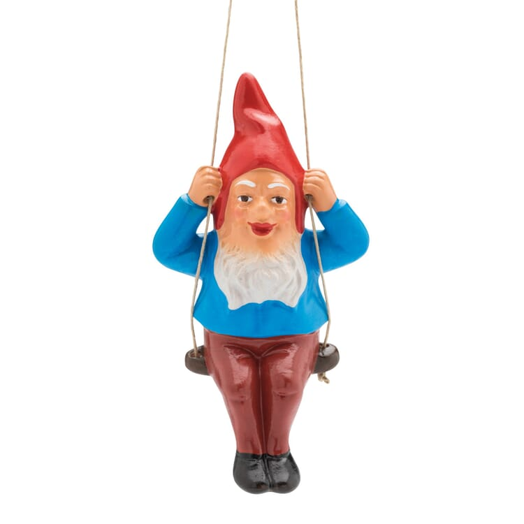 Garden Gnome with a Swing