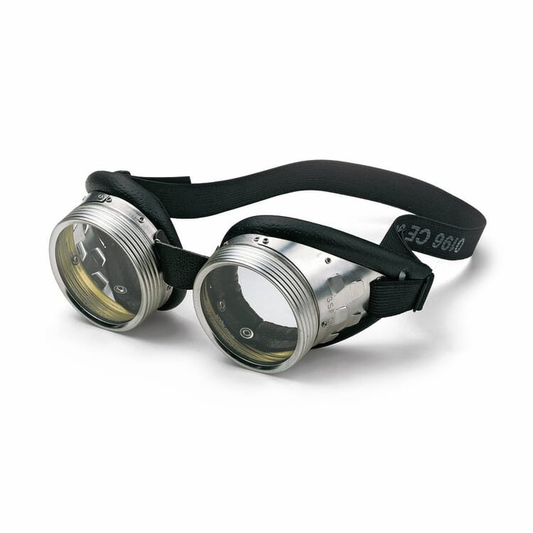 Screw-On Lens Safety Glasses