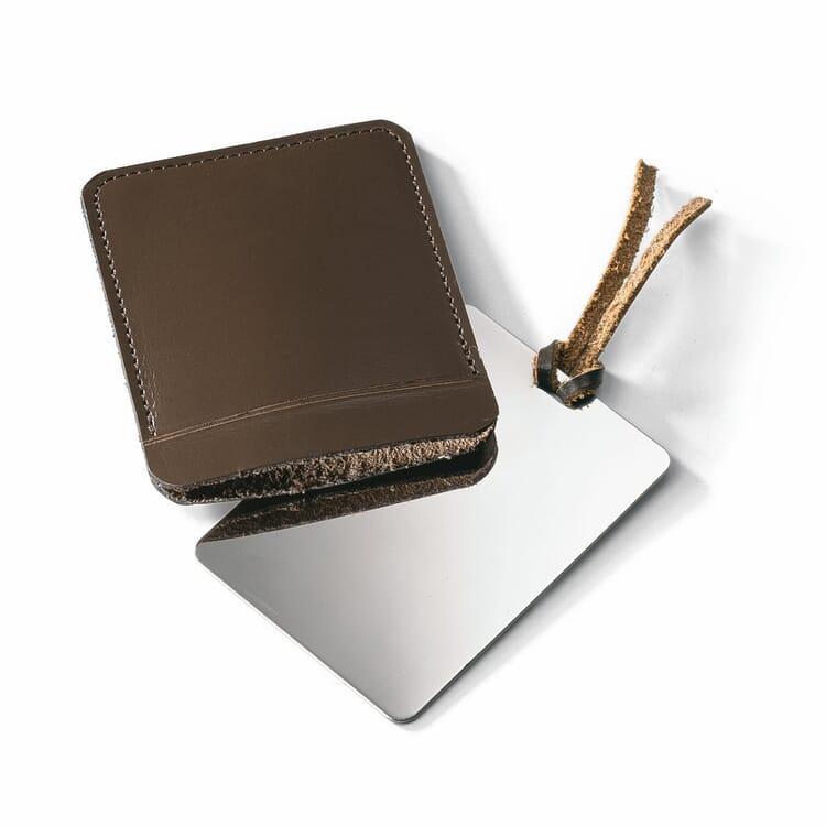 Taschenspiegel Edelstahl