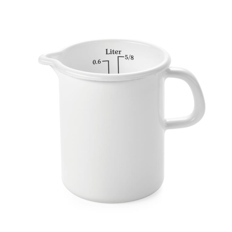 Riess Enamel Measuring Jug, Small