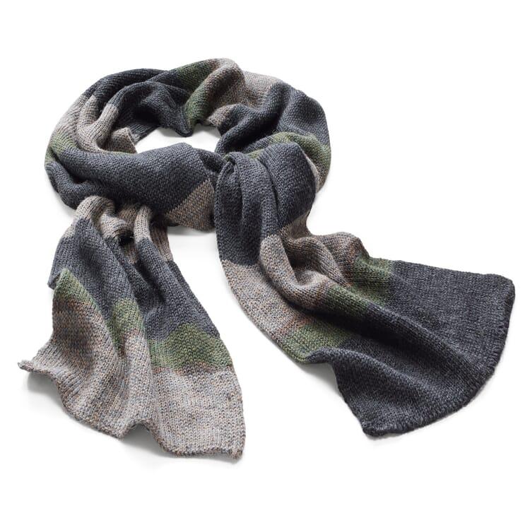 Inis Meáin Men's Knit Scarf Alpaca and Silk